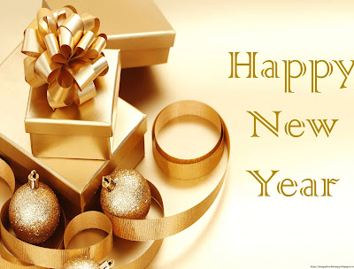 New year wishes with chocolates