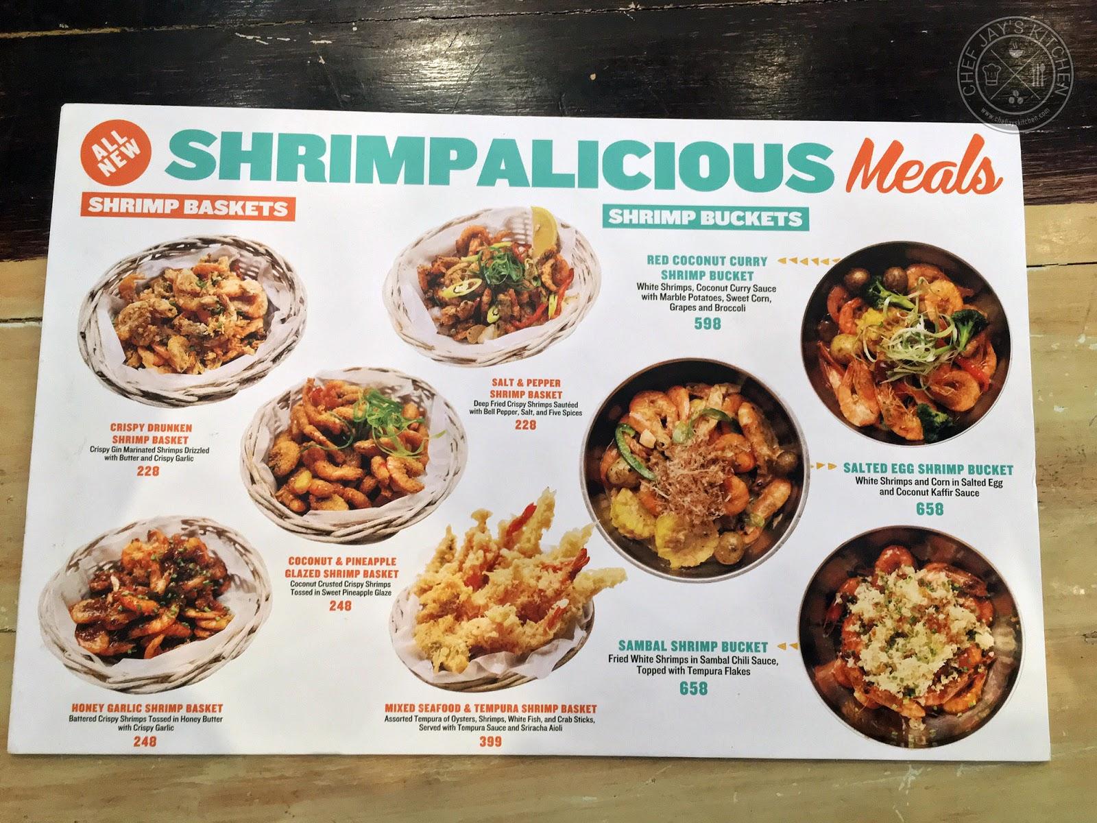 Johnny Kahuku's Hawaiian Shrimp House: Shrimp Buckets and