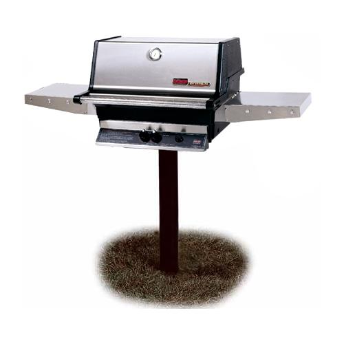 Outdoor Kitchen Natural Gas Grill Post Built In Grills