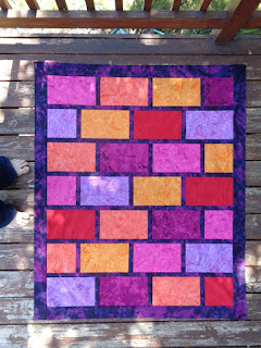 http://websterquilt.blogspot.com/p/brick-wall-free-motion-quilt-along.html