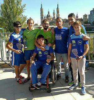 Piragüismo Aranjuez en Zaragoza
