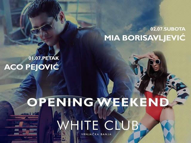 """Veliko otvaranje: """" White club """" noćni provod Vrnjačke Banje"""