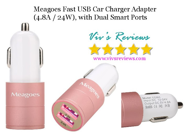 meagoes fast usb charger adapter