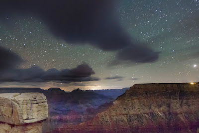 Night Storm Grand Canyon Arizona Astrophotography