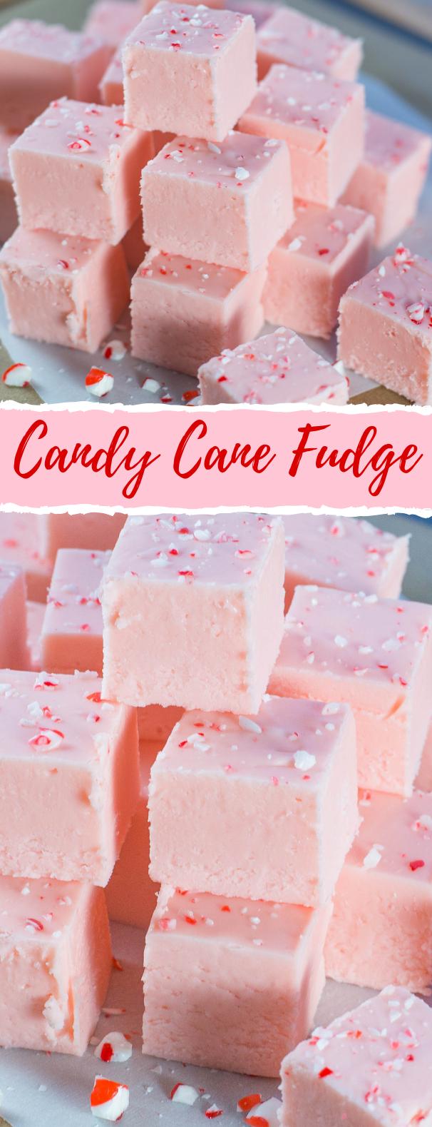 Candy Cane Fudge #Sugar #Candies
