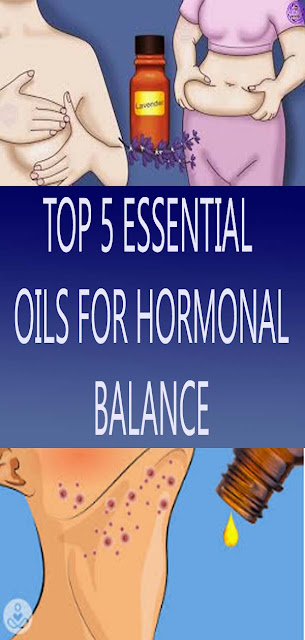 TOP 5 ESSENTIAL OILS FOR HORMONAL BALANCE#NATURALREMEDIES