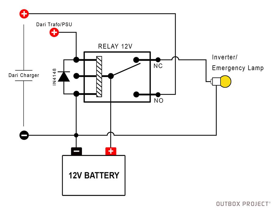 wiring diagram charger aki otomatis