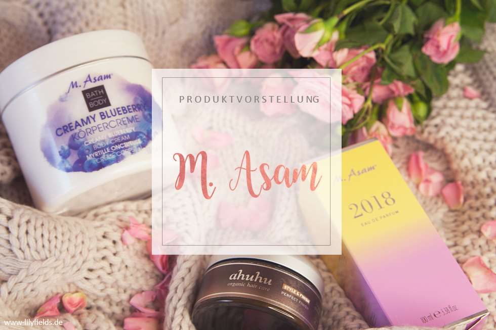 M. Asam - Creamy Blueberry / 2018 Parfum / ahuhu Perfect Finish