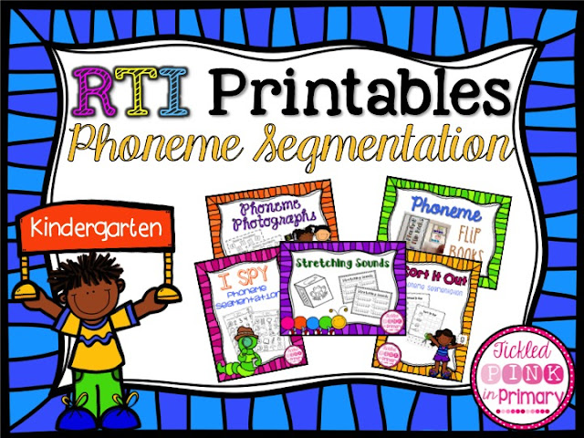 Kindergarten Phoneme Segmentation Worksheets - phoneme segmentation ...