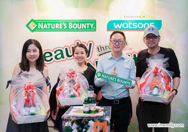 Nature Bounty Supplement Now in Watsons Malaysia!