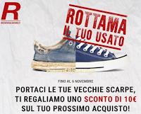 Logo Rottama le tue scarpe e ricevi un buono sconto da 10 euro