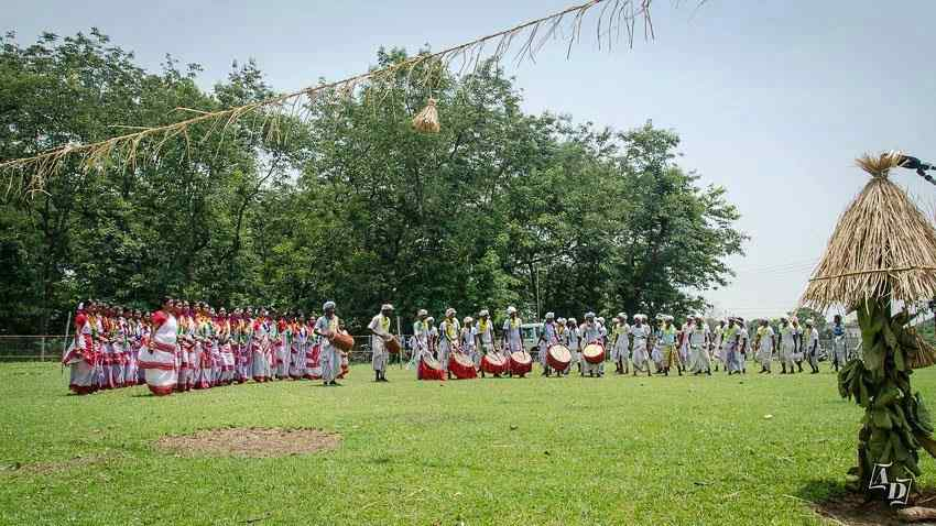 Santali Traditional Cultural Dance