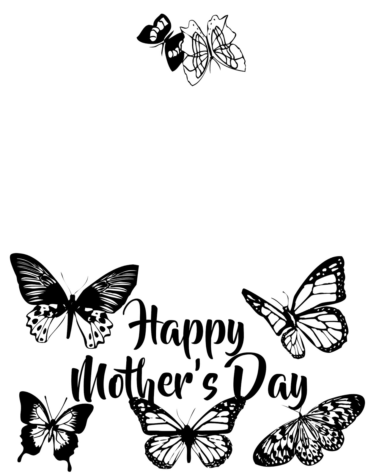 musings of an average mom mothers day cards to colour