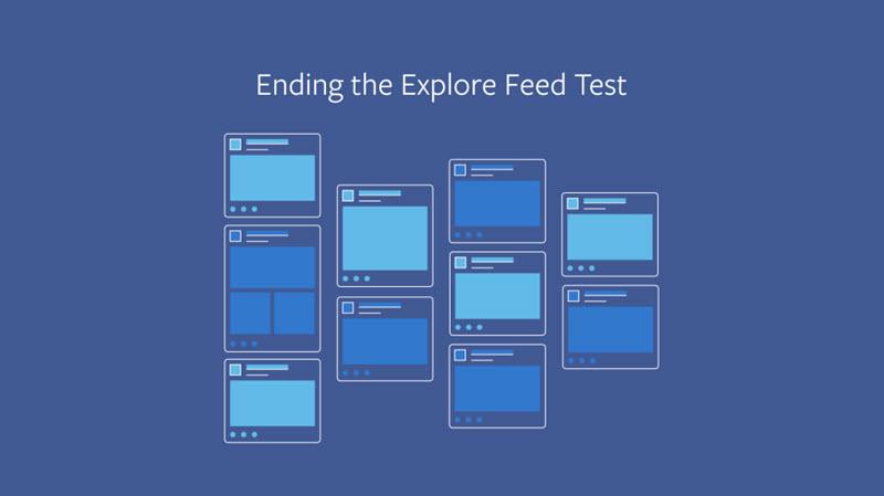 فيسبوك تتخلى عن فكرة تقسيم شريط الأخبار News feed إلى جزئين