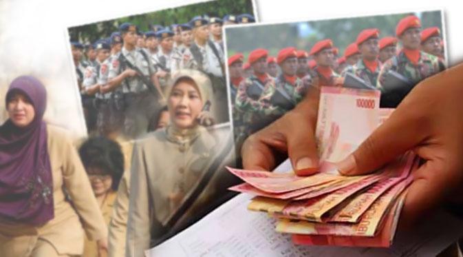 Gaji Tak Naik tapi Uang Makan TNI/Polri dan PNS Ditambah Rp5.000