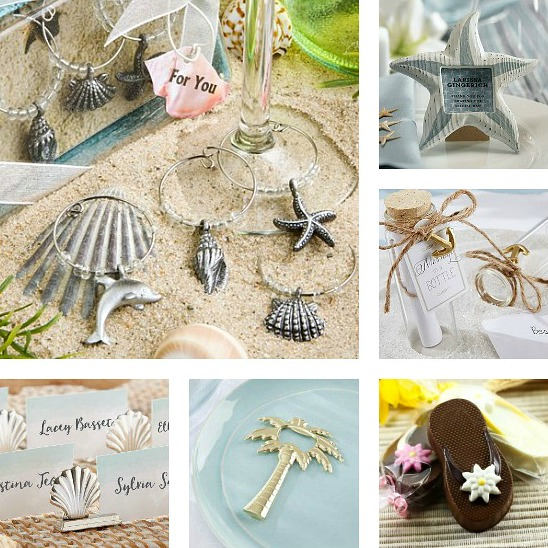 Beach Favors for Parties, Birthdays, Weddings and more