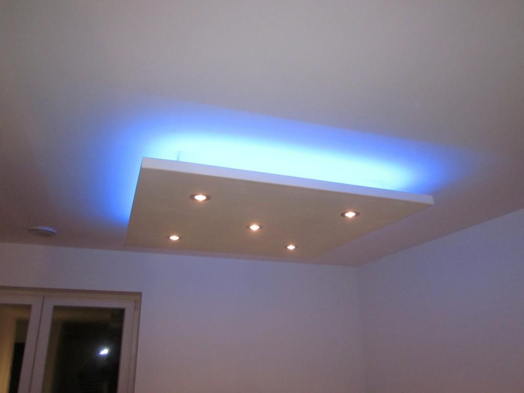Indirekte beleuchtung decke wohnzimmer ideen  Hause Dekoration Ideen