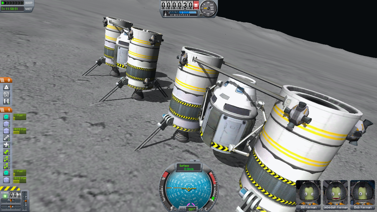Constructing a Mun Base in 0.14 | Kerbal Space Program Blog