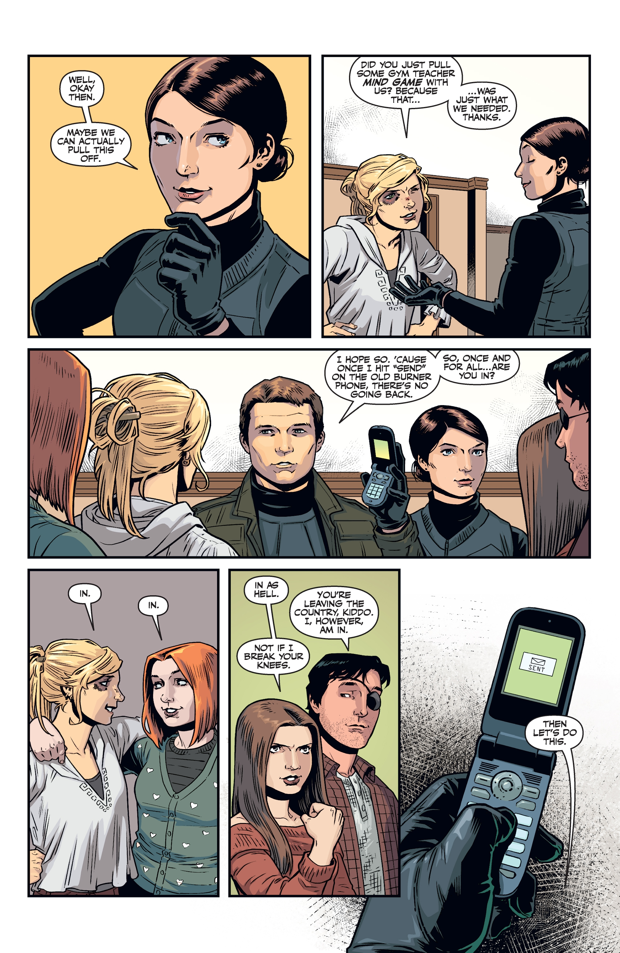 Read online Buffy the Vampire Slayer Season 11 comic -  Issue #8 - 18