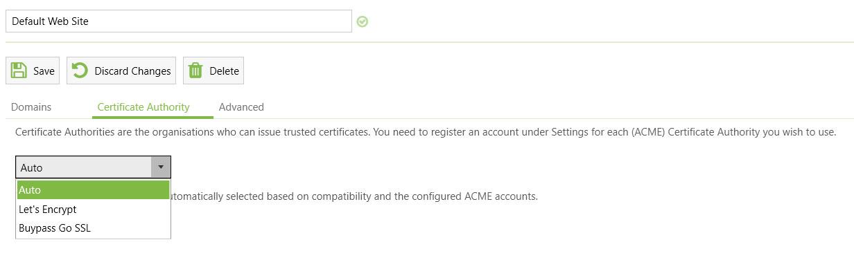 Isi nama CA sertifikat