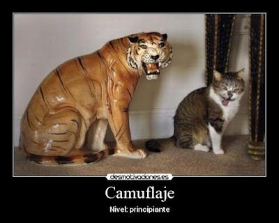Los mejores camuflajes de animales