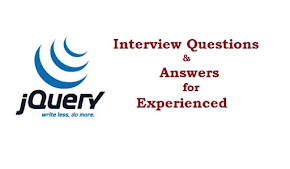 Jquery Interview Questions and Answers for experienced