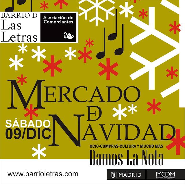 Mercado de Navidad 017 en el Barrio de las letras