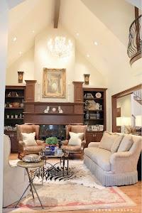 Living Room Updates at Eleven Gables