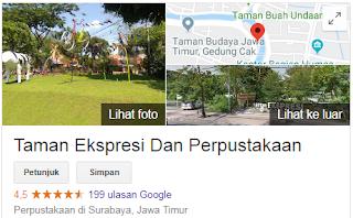 Taman Ekspresi Taman Wisata Di Surabaya Yang Lagi Hits Tahun 2018