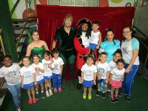 Peter Pan na Ursinho da Neném