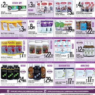 Ambrosia Natural Foods Flyer February 1 - 28, 2018