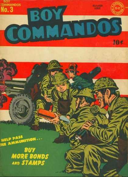 Boy Commandos 3 Jack Kirby Joe Simon