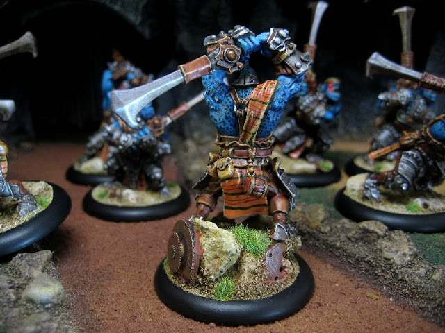 Trollbloods Fennblades version DC23 photo