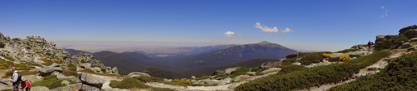Panorámica desde Siete Picos