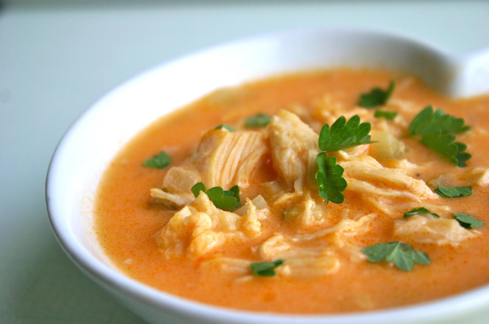 My Retro Kitchen: Buffalo Chicken Soup
