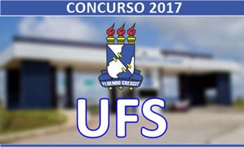 Concurso Universidade Federal de Sergipe - UFS 2017