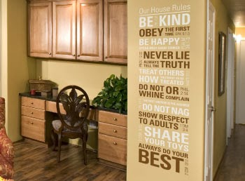 Wise decor christian house rules