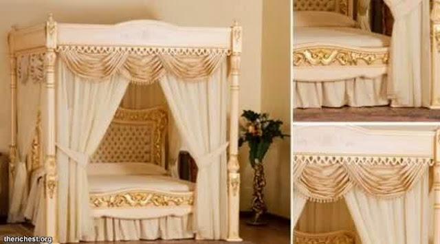 tempat tidur paling mahal di dunia