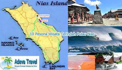 10 Charm Beautiful Nias Island Tourism