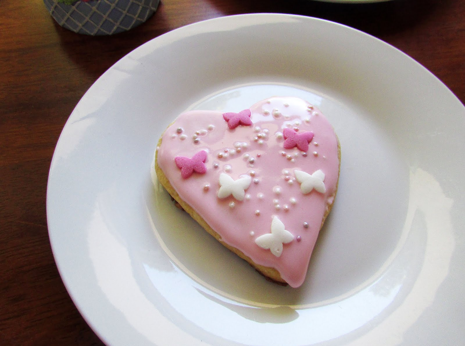 Valentine's Day Themed Sugar Cookies