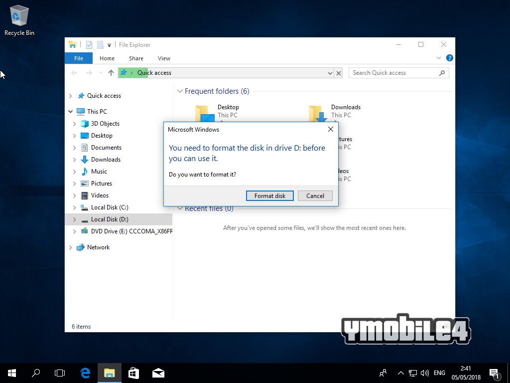 Tutorial Instal Windows 10 Step 30