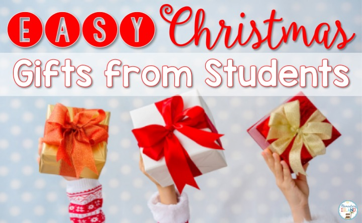 Christmas Gifts For Parents From Students.Elementary Island Easy Christmas Gifts From Students