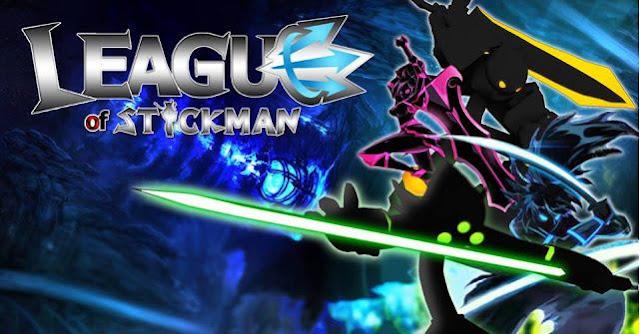 League of Stickman 2016 Mod APK Unlimited Money + Skill - Akozo.Net