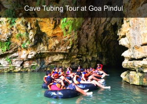 Cave Tubing Tour at Goa Pindul