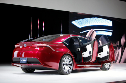 2015 Toyota NS4 Hybrid Concept and Price