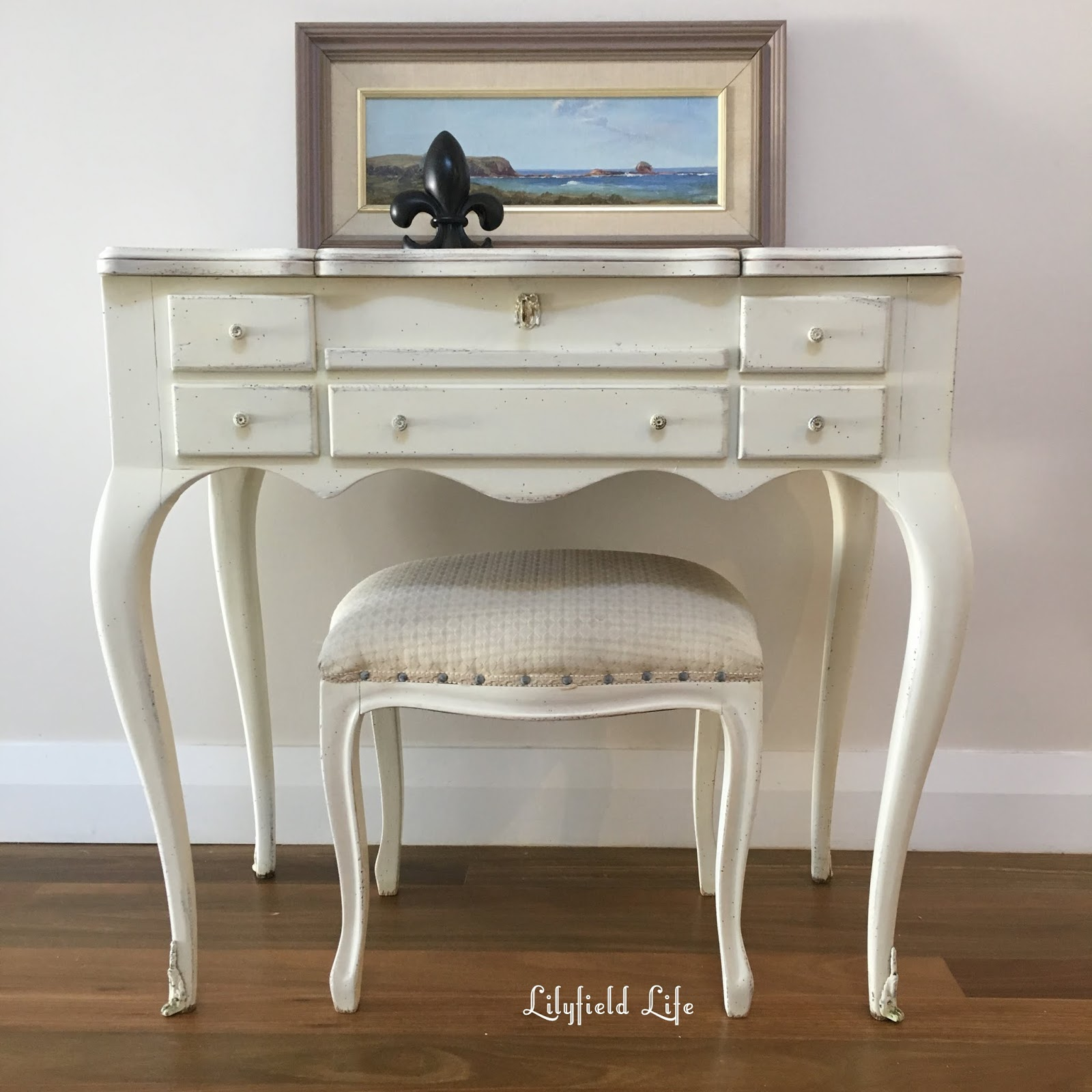 Vintage French Style Dressing Table   Lilyfield Life