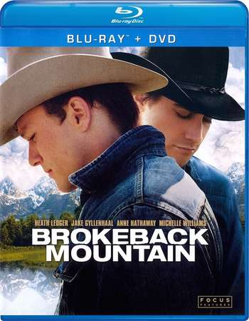 Poster Of Brokeback Mountain 2005 English 400MB BRRip 480p ESubs Free Download Watch Online