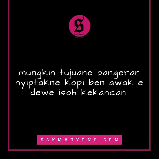quotes kopi bahasa jawa