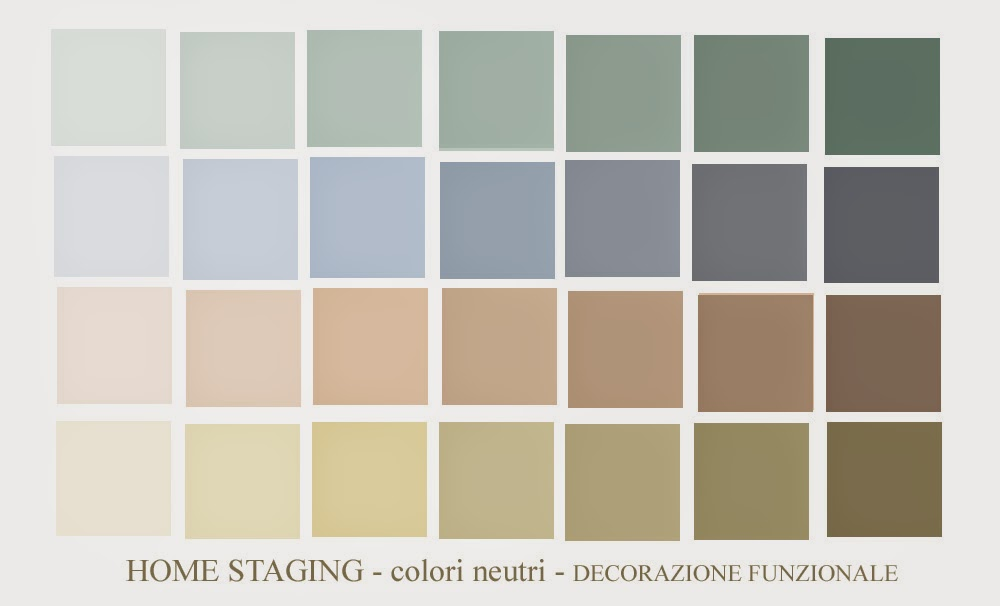 Famoso HOME STAGING - Colori Neutri -Tinta RE64