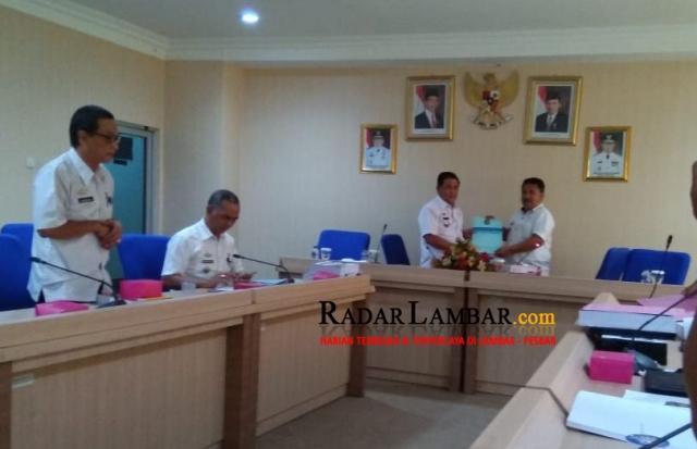 Evaluasi LPj  2017, Lambar  Pertama di Provinsi Lampung